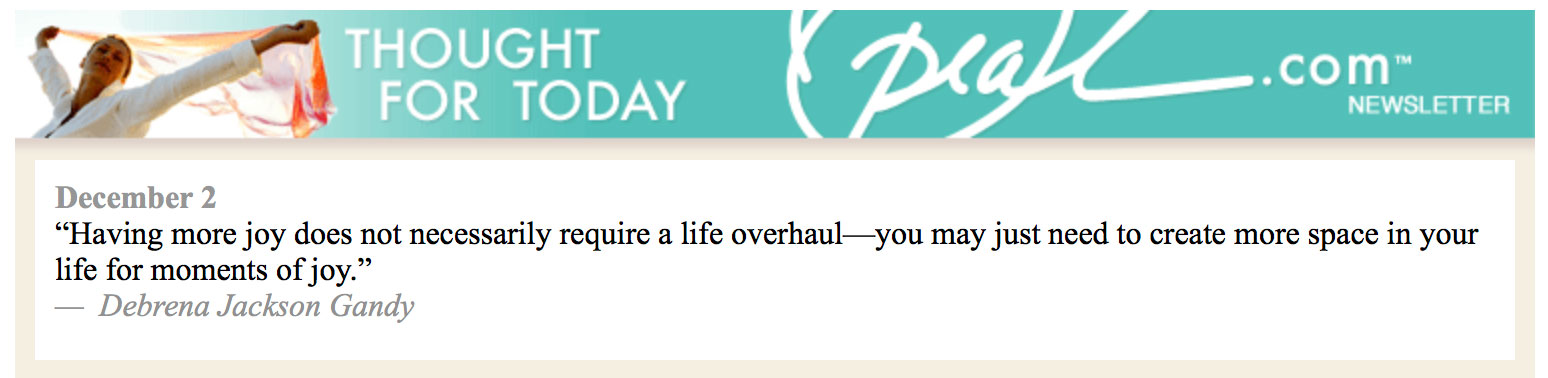 Oprah.com Thought For Today