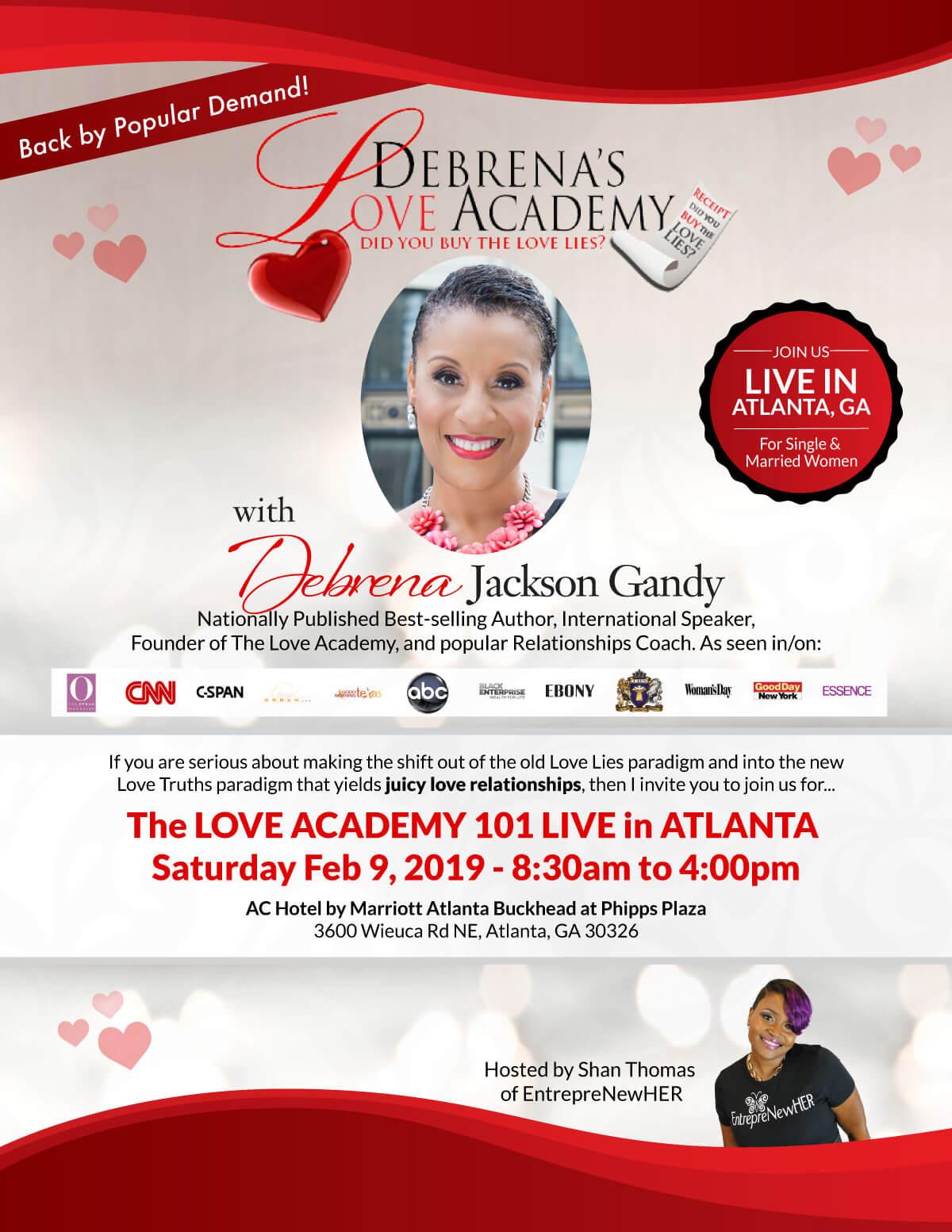 Love Academy Live Atlanta