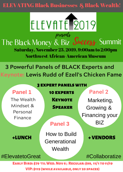 Elevate 2019 Event Flyer
